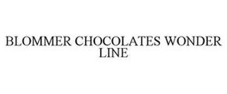 BLOMMER CHOCOLATES WONDER LINE