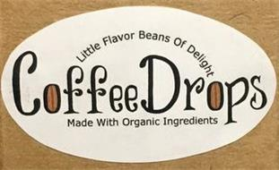 COFFEEDROPS LITTLE FLAVOR BEANS OF DELIGHT MADE WITH ORGANIC INGREDIENTS