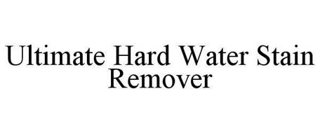 ULTIMATE HARD WATER STAIN REMOVER