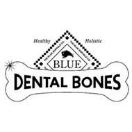 THE BLUE BUFFALO CO. HEALTHY HOLISTIC BLUE DENTAL BONES
