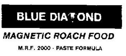 BLUE DIAMOND MAGNETIC ROACH FOOD