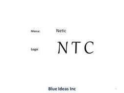 LOGO: MARCA: NETIC NTC BLUE IDEAS INC
