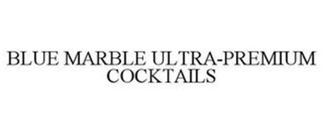 BLUE MARBLE ULTRA-PREMIUM COCKTAILS
