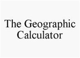 THE GEOGRAPHIC CALCULATOR