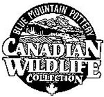 CANADIAN WILDLIFE COLLECTION BLUE MOUNTAIN POTTERY