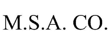 M.S.A. CO.