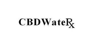 CBDWATERX