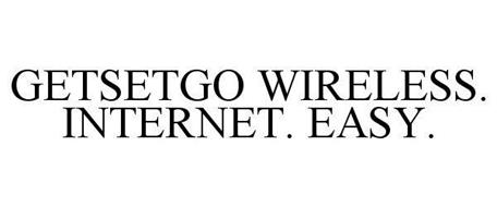 GETSETGO WIRELESS. INTERNET. EASY.