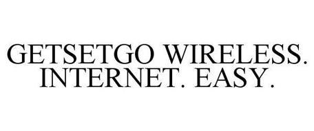 GETSETGO WIRELESS. INTERNET. EASY.