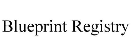 Blueprint registry trademark of blueprint registry inc serial blueprint registry malvernweather Images