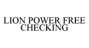 LION POWER FREE CHECKING
