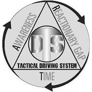 DTS TACTICAL DRIVING SYSTEM AWARENESS REACTIONARY GAP TIME