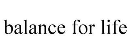BALANCE FOR LIFE