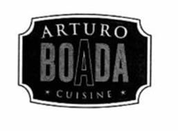 Arturo boada cuisine trademark of boada arturo serial for Arturo boada cuisine