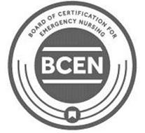 BOARD OF CERTIFICATION FOR EMERGENCY NURSING BCEN