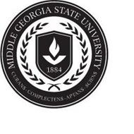 MIDDLE GEORGIA STATE UNIVERSITY 1884 CURANS · COMPLECTENS · APTANS · SCIENS