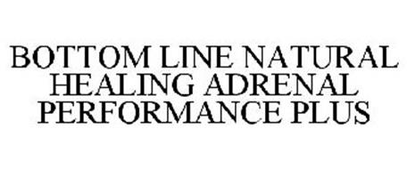 BOTTOM LINE NATURAL HEALING ADRENAL PERFORMANCE PLUS