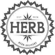 EST 2014 HERB HERB.DELIVERY