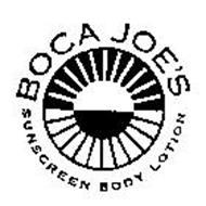 BOCA JOE'S SUNSCREEN BODY LOTION