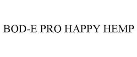 BOD-E PRO HAPPY HEMP