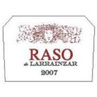 RASO DE LARRAINZAR 2007