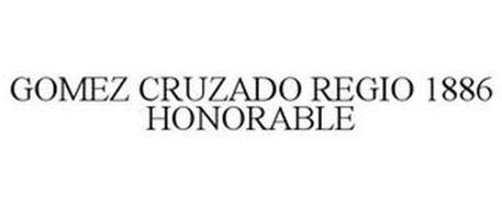 GOMEZ CRUZADO REGIO 1886 HONORABLE