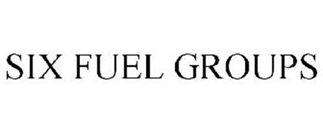 SIX FUEL GROUPS