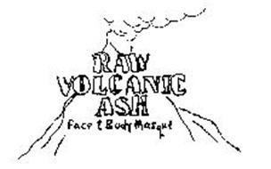 RAW VOLCANIC ASH FACE & BODY MASQUE ORANGE