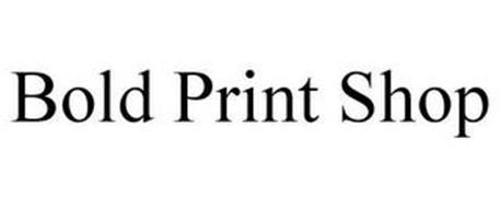 BOLD PRINT SHOP