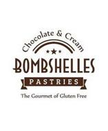CHOCOLATE & CREAM BOMBSHELLES PASTRIES THE GOURMET OF GLUTEN FREE