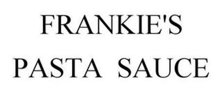 FRANKIE'S PASTA SAUCE