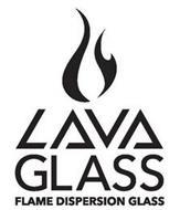 LAVA GLASS FLAME DISPERSION GLASS