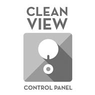 CLEAN VIEW CONTROL PANEL