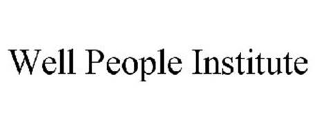 WELL PEOPLE INSTITUTE