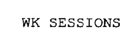 Wk Sessions Trademark Of Bonito Manufacturing Inc
