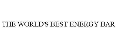 THE WORLD'S BEST ENERGY BAR