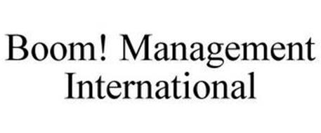 BOOM! MANAGEMENT INTERNATIONAL