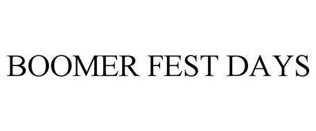 BOOMER FEST DAYS