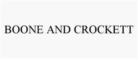 BOONE AND CROCKETT