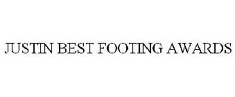 JUSTIN BEST FOOTING AWARDS