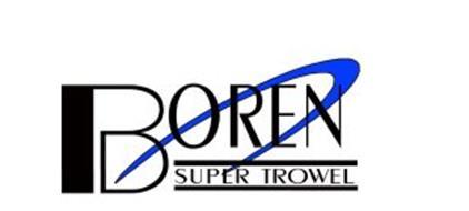 BOREN SUPER TROWEL