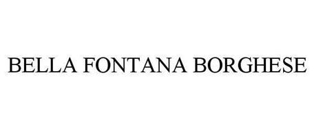 BELLA FONTANA BORGHESE