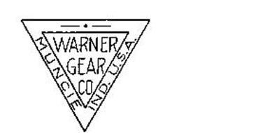 WARNER GEAR CO. MUNICE IND. U.S.A.