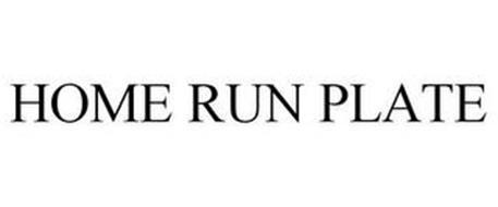 HOME RUN PLATE