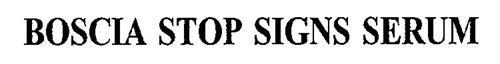 BOSCIA STOP SIGNS SERUM