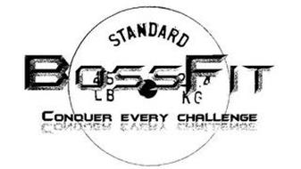 BOSSFIT CONQUER EVERY CHALLENGE STANDARD 45 LB 2.4 KG