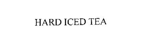 HARD ICED TEA Trademark of BOSTON BEER COMPANY LIMITED PARTNERSHIP ...
