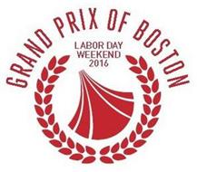 GRAND PRIX OF BOSTON LABOR DAY WEEKEND 2016