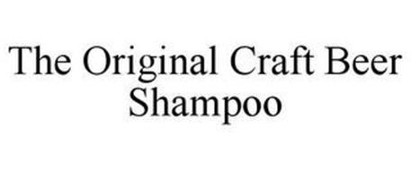 THE ORIGINAL CRAFT BEER SHAMPOO