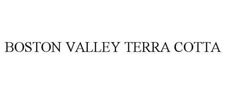 Boston valley terra cotta trademark of boston valley for Boston valley terra cotta